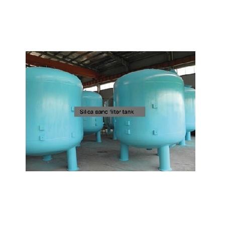 Epoksi Boyalı ST-37 Tanklı Yüzey Borulamalı Kum Filtre Sistemleri