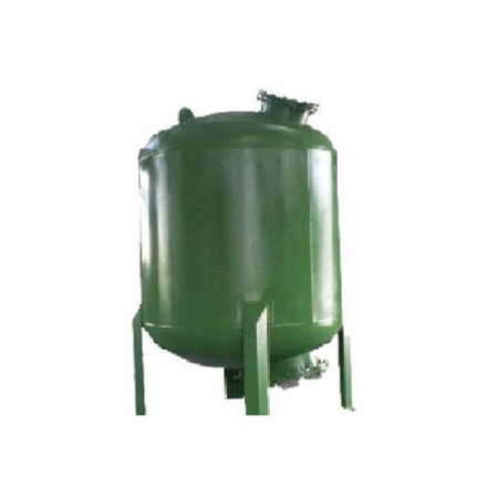 Epoxy Painted ST-37 Tank Surface Piping Activated Carbon Filter Systems